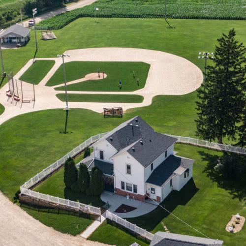 EPA's Eye in the Sky: 'Field of Dreams' movie site, Iowa, USA