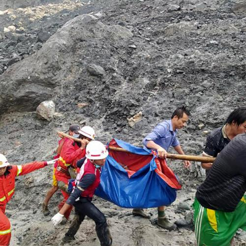 Death toll in Myanmar landslide surges past 100