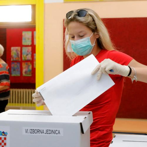Croatia's parliamentary election underway
