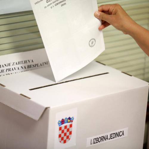 Croatia's ruling centre-right party set to win election