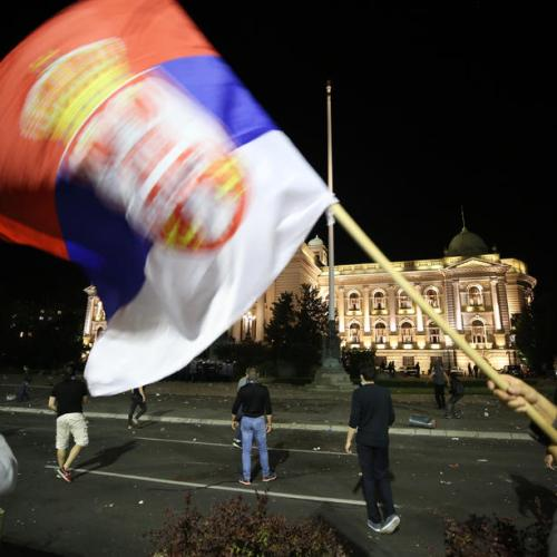Thousands join anti-government protest in Serbia