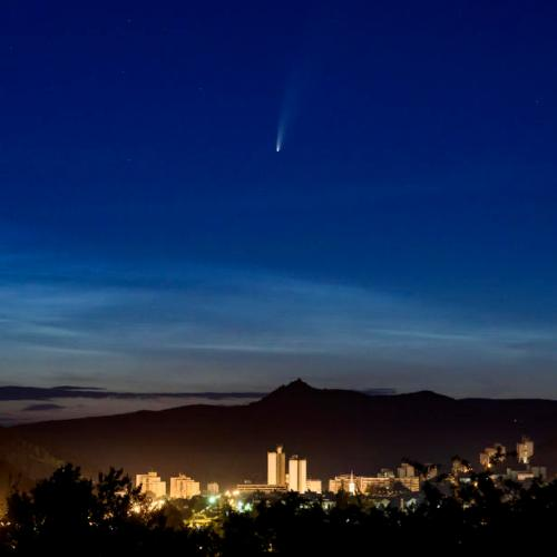 Photo Story: Comet NEOWISE over Hungary