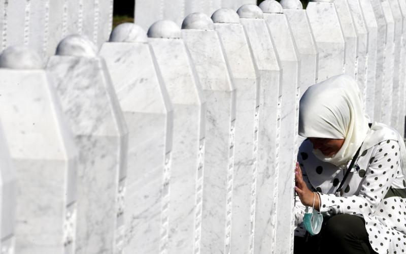 Remembering what humans can do to others… Srebrenica