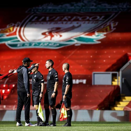 Liverpool's home winning streak ends in draw with Burnley