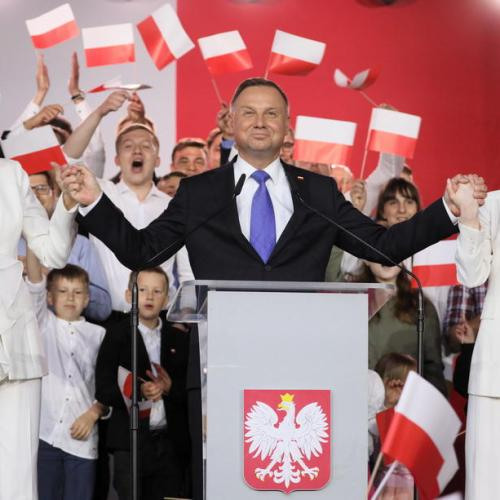 Incumbent Duda extends lead in Polish presidential election