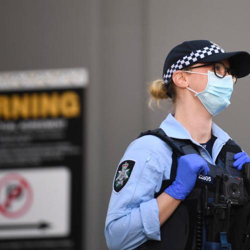 Australia posts surge in new COVID-19 cases