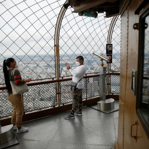 Disneyland Paris, Eiffel Tower re-open for visitors