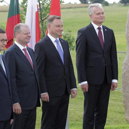 Increased US military presence in Poland serves security interest of all region – Lithuanian President