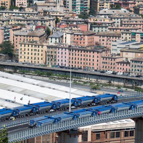Genoa bridge to open to traffic August 5