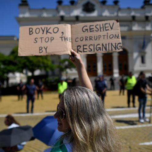 Bulgarian PM overhauls government to quell protests