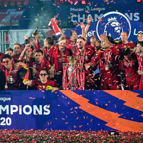 Liverpool deservedly lift Premier League trophy after 30 years of waiting