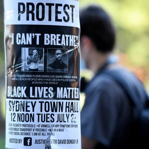 Australia police win halt to Black Lives Matter protest amid COVID-19