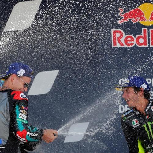Quartararo win Andalusian MotoGP, in a race which saw Valentino Rossi earn podium