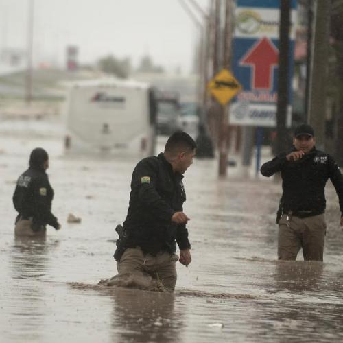 Hanna pummels Texas coast with strong winds, heavy rain