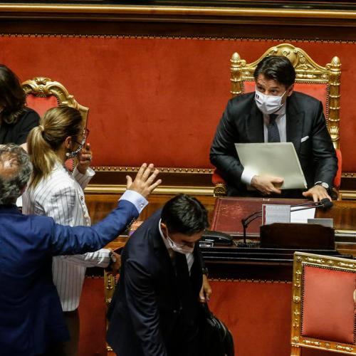 Conte wins backing to extend COVID-19 emergency period in Italy