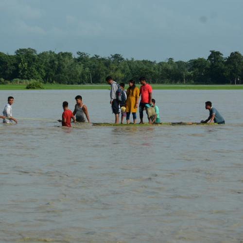 Photo Story: Flood situation worsen in Assam, India