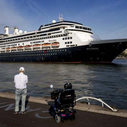Photo Story: Rotterdam welcomes namesake cruise ship for the last time