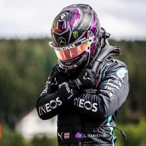 Hamilton dedicates Pole Position to Black Panther's Chadwick Boseman