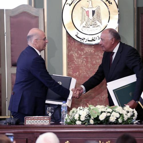 Egypt and Greece sign agreement on exclusive economic zone