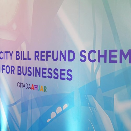 Refund of 50% of business electricity bills announced