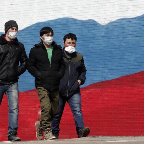 Russia Coronavirus Cases Surge Past One Million