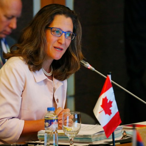 Trudeau appoints Canada's first female finance minister