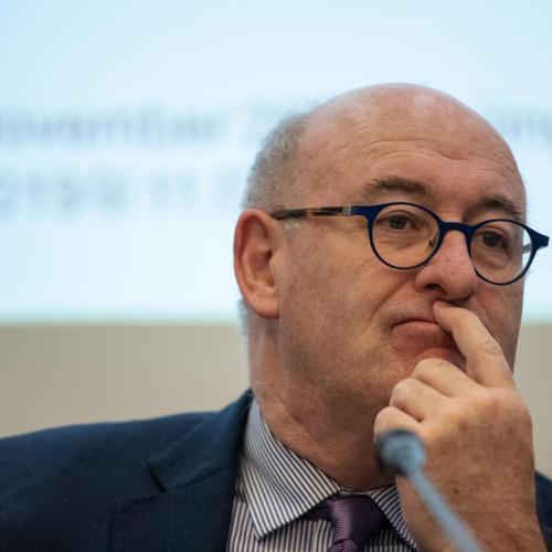 Irish police caution adds to pressure on EU's Hogan