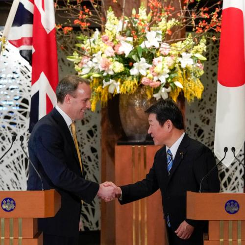 UK says trade talks with Japan making good progress, hopes to conclude shortly