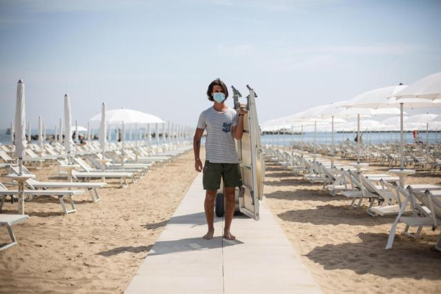 2020 rules to be basis for seaside access in Italy this year too
