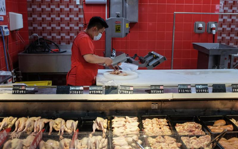 China's Shenzhen says chicken imported from Brazil tests positive for coronavirus