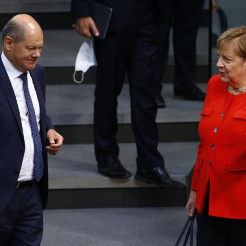 SPD leaders propose German Finance Minister as chancellor candidate