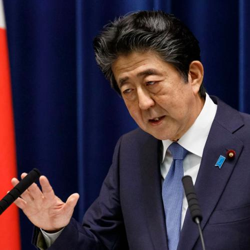 Japan PM Abe taken to hospital