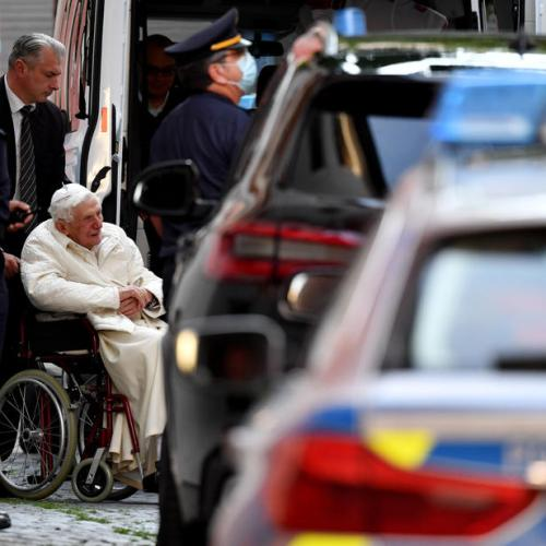 Vatican states ex Pope Benedict's health 'not particularly worrying'