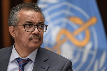WHO's Tedros wins German backing for second term