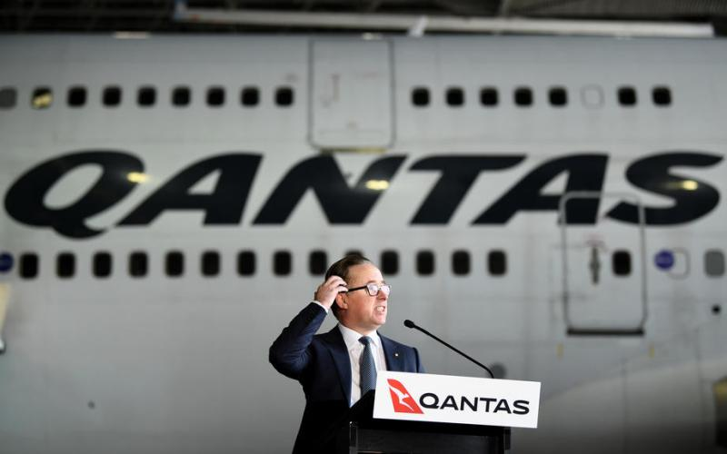 Coronavirus-hit Qantas reports £1bn annual loss
