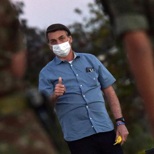 Brazil's Bolsonaro approval rating at highest despite coronavirus
