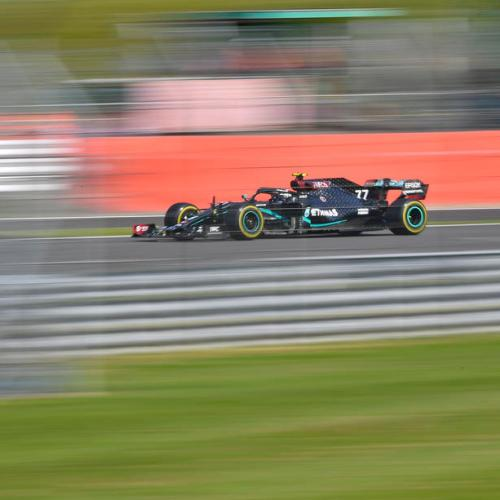 Bottas takes lead in the British Grand Prix qualifiers