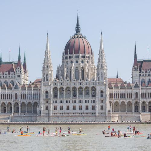 Photo Story: 5th Budapest Stand Up Paddle (SUP) Festival