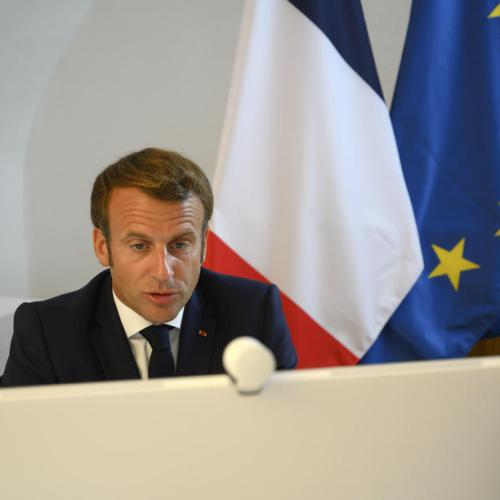 EU must support peaceful Belarus protesters, France's Macron says