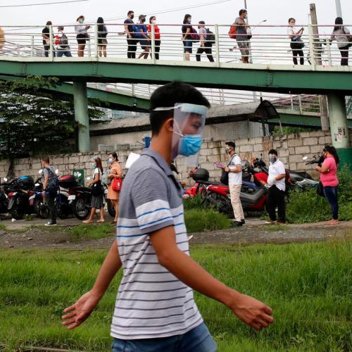 Philippines' coronavirus cases rise close to 190,000