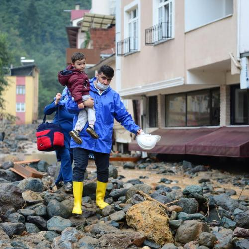 Death toll from northern Turkey flash floods rises to six