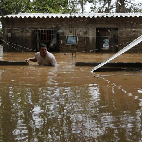 Photo Story: Tropical storm Hernan leaves damage in Mexico