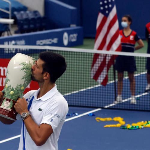 Djokovic wins ATP Western & Southern Open Final