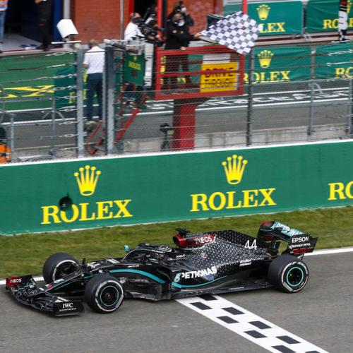 Hamilton triumphs in the Belgian Grand Prix