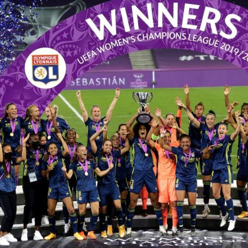 Lyon wins fifth consecutive Women's Champions League