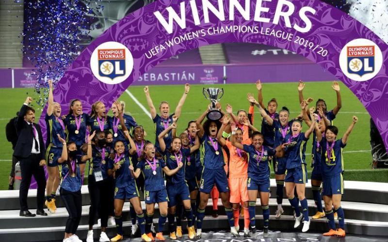 Lyon wins fifth consecutive Women's Champions League