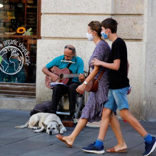 Croatia's economy posts record contraction