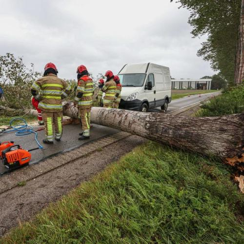 Photo Story: Storm Francis rages across the Netherlands