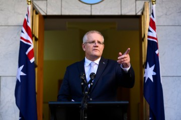 Australian PM Morrison's approval rating rises, poll shows
