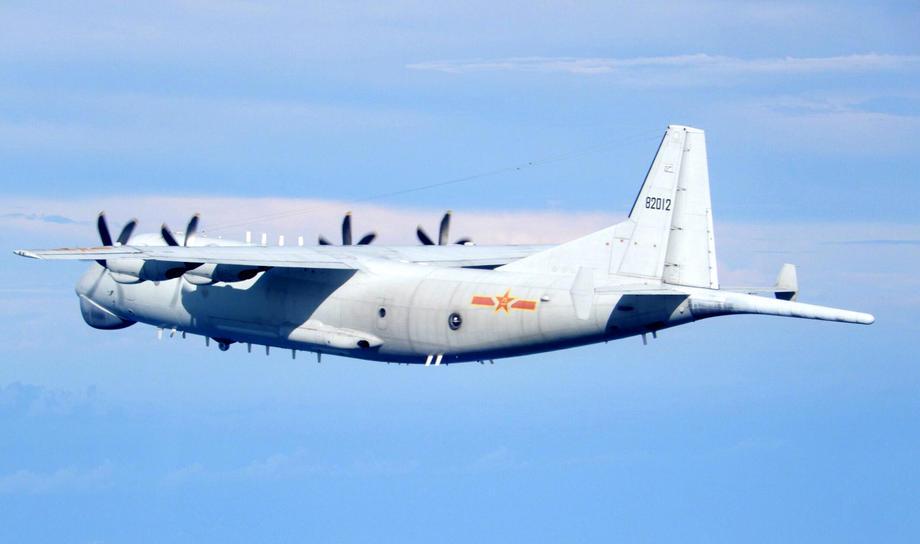 Chinese warplanes enter Taiwan airspace